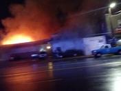 Fire at pajaro