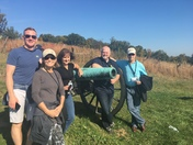 The team at Gettysburg