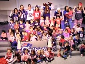 Patriots Cheer from Mount Hope Christian School