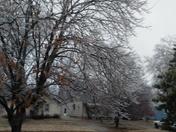 Ice storm 2017 Garnett KS
