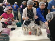 Mauldin Rotary Club And Community Project Stop Hunger Now!