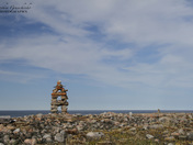 Inuksuk near Arviat, Nunavut