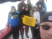 terrible towel on the slopes