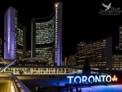 Toronto Sign at City Hall