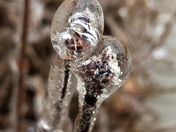Ice up close