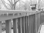 Icy Deck Rails