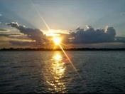 Beautiful Sunset Over Lake Texoma