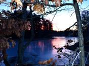 Arilngton Lake sunrise