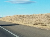 Flying Saucer Cloud