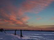 Sunrise near Barrie, Ontario