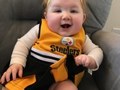 Boston steeler fan