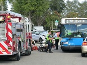 Accident in Titusville, Space Coast Area Transit
