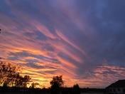 Rez sun set