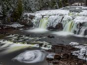 Lepreau Falls inJanuary