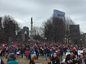 Women's March for America - Boston Common, January 21, 2017