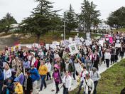 Women's March @ CSUMB