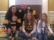 Sharing the Steeler love from our family to yours