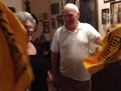 Terrible towel in Ortega, Sicily