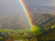 Rainbow in Pastures of Heaven