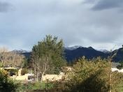 Snow in the Diablo Range near Santa Ana Peak