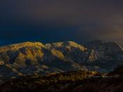 Placitas, NM Sunset 1-21-17