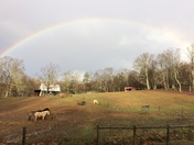 Rainbow in Meadows of Dan Va