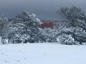 Castle rock in snow !!