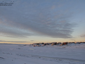Sunrise over Cambridge Bay