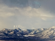 Ortiz and Sandia Mountains of NM.