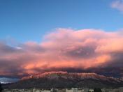 Gorgeous Sunset Colors on Sandias!