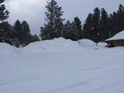 Snow in Chama