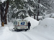 Snow or Shine USPS in Truckee