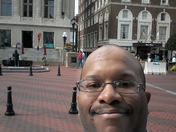 Enjoying Downtown Greenville