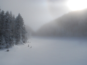 In the Ice mist