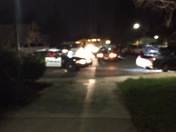 Roseville Pd chase ended in my front yard.