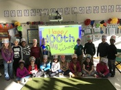 Mrs. Balentine's class celebrates the 100th day of school!!