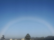Beautiful Early Wednesday Morning Rainbow