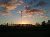 Beautiful Sunrise And Sky