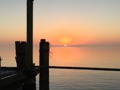 Sunrise at Kenner Boat launch this morning