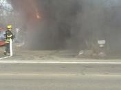Fire milleville ave. Ham. Ohio