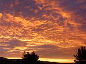 Winter Sky over Salinas Valley