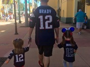 All the Russells love Patriots!