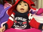 Our little PATS fan!!!