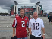 Bob and Mark go to the SuperBowl