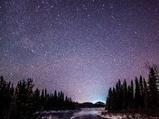 Crooked River at Night