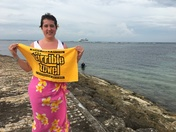Steeler fan in Bali, indonesia