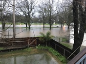 Flooding from over night rain