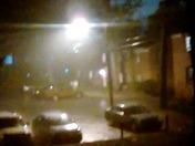 Rare thunderstorm February 8, 2017 Winston-Salem
