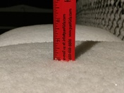 North Huntingdon overnight snow fall