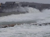 Crashing Waves In Scituate